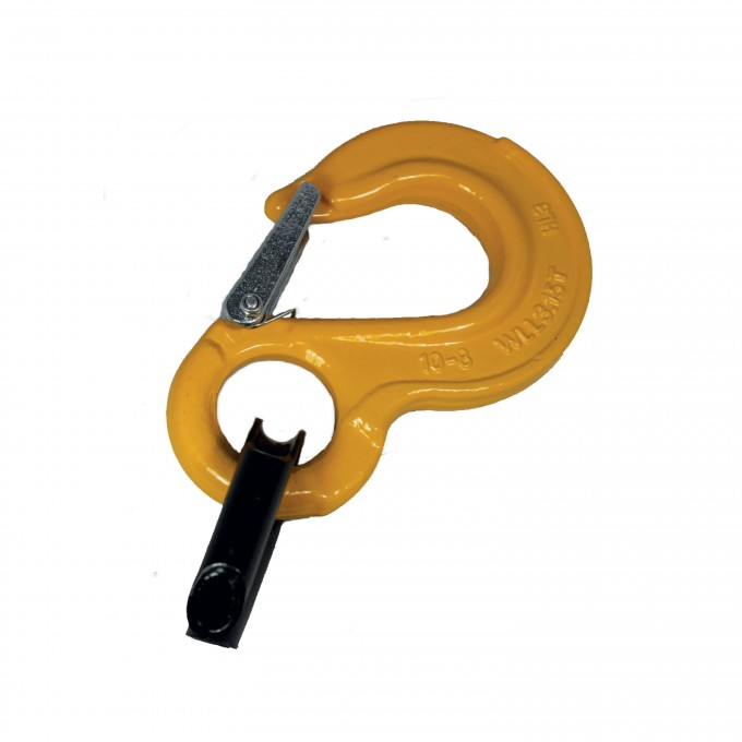 COMPETITION HOOKS- 3 15T Safe Working Load lifting hooks with sring g